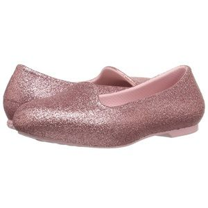Crocs Eve Blush Sparkle Flat - Toddler 8